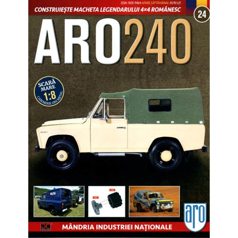 Macheta auto ARO 240 KIT Nr.24 – elemente roata, scara 1:8 Eaglemoss