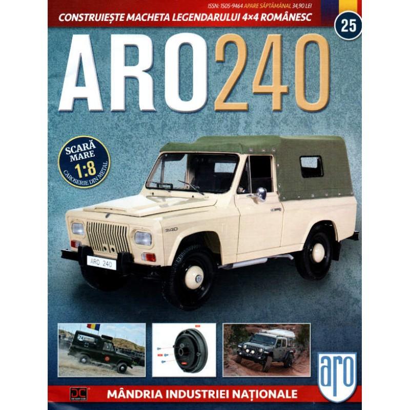 Macheta auto ARO 240 KIT Nr.25 – elemente roata, scara 1:8 Eaglemoss