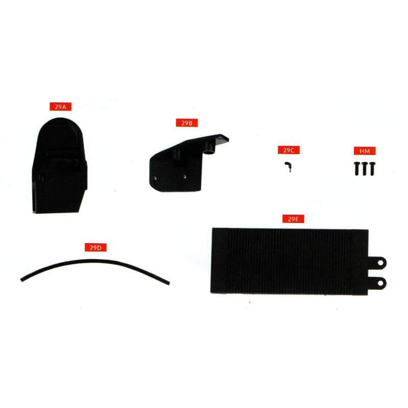 Macheta auto ARO 240 KIT Nr.29 – radiator motor, scara 1:8 Eaglemoss