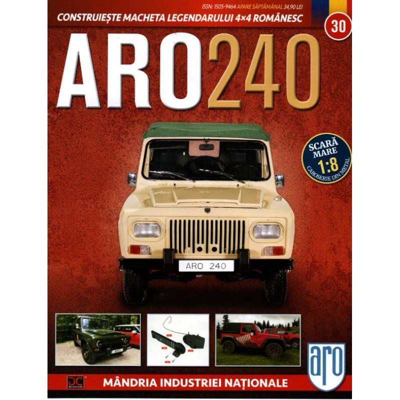 Macheta auto ARO 240 KIT Nr.30 – admisie motor, scara 1:8 Eaglemoss