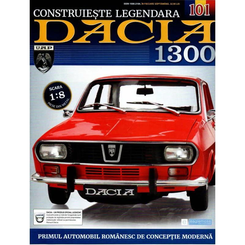 Macheta auto Dacia 1300 KIT Nr.101 - capota portbagaj part4, scara 1:8 Eaglemoss