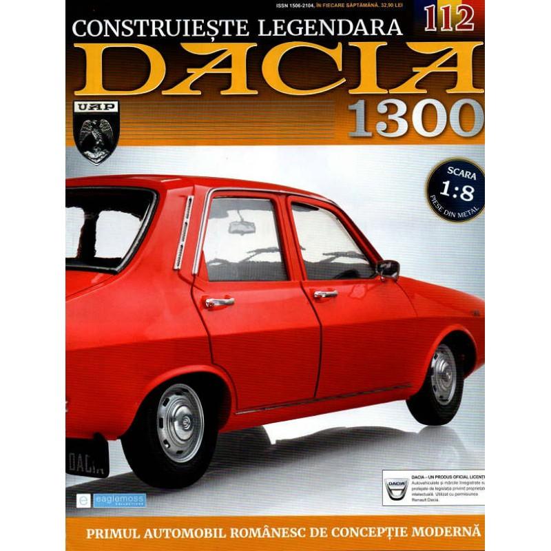 Macheta auto Dacia 1300 KIT Nr.112 - filtru aer motor, scara 1:8 Eaglemoss