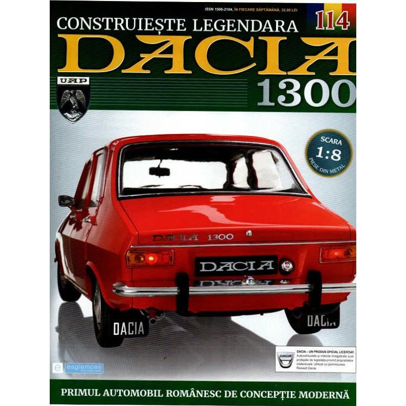 Macheta auto Dacia 1300 KIT Nr.114 - panou portbagaj, scara 1:8 Eaglemoss