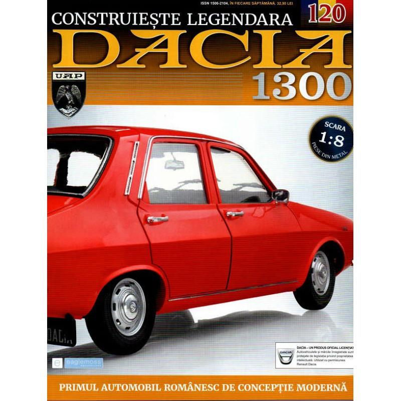 Macheta auto Dacia 1300 KIT Nr.120 - asamblarea finala, scara 1:8 Eaglemoss