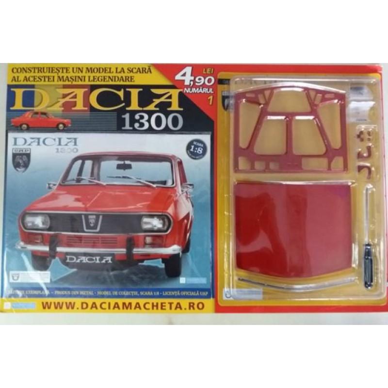 Macheta auto Dacia 1300 KIT Nr.1, scara 1:8 Eaglemoss