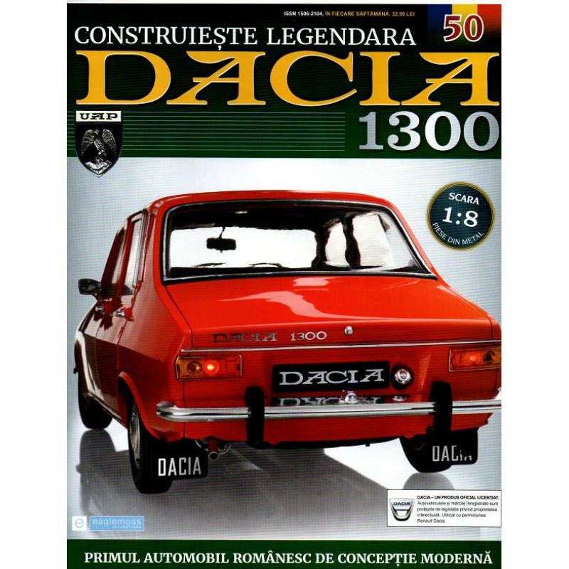Macheta auto Dacia 1300 KIT Nr.50 - elemente scaun fata4, scara 1:8 Eaglemoss