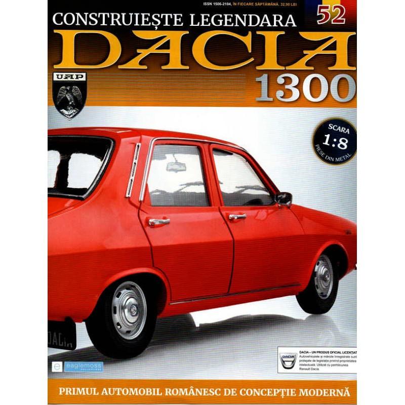Macheta auto Dacia 1300 KIT Nr.52 - elemente bancheta spate part1, scara 1:8 Eaglemoss