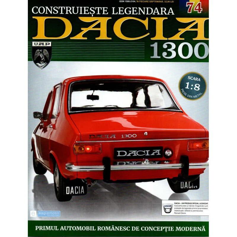 Macheta auto Dacia 1300 KIT Nr.74 - elemente portiera part2, scara 1:8 Eaglemoss