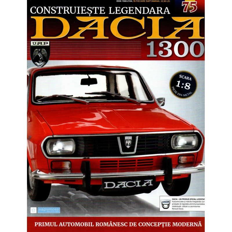 Macheta auto Dacia 1300 KIT Nr.75 - elemente portiera part3, scara 1:8 Eaglemoss