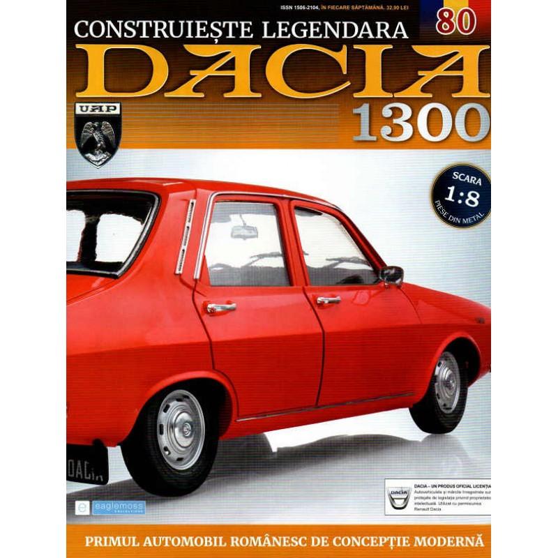 Macheta auto Dacia 1300 KIT Nr.80 - elemente portiera dr part2, scara 1:8 Eaglemoss