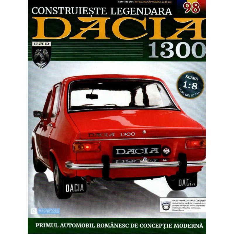 Macheta auto Dacia 1300 KIT Nr.98 - capota portbagaj part1, scara 1:8 Eaglemoss
