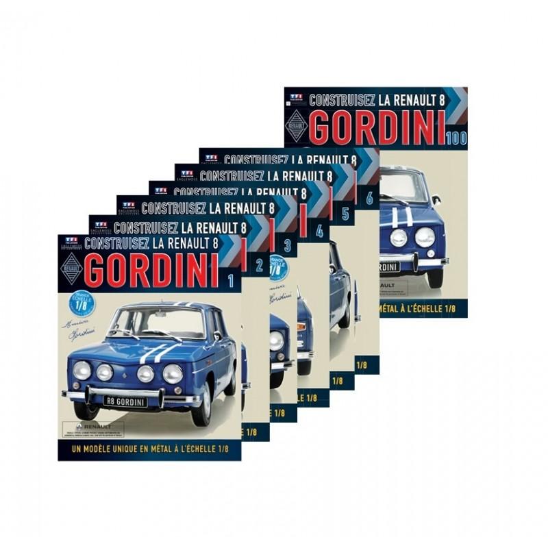 Colectie Macheta auto Renault 8 Gordini KIT Nr.1-101 (Complet), scara 1:8 Eaglemoss