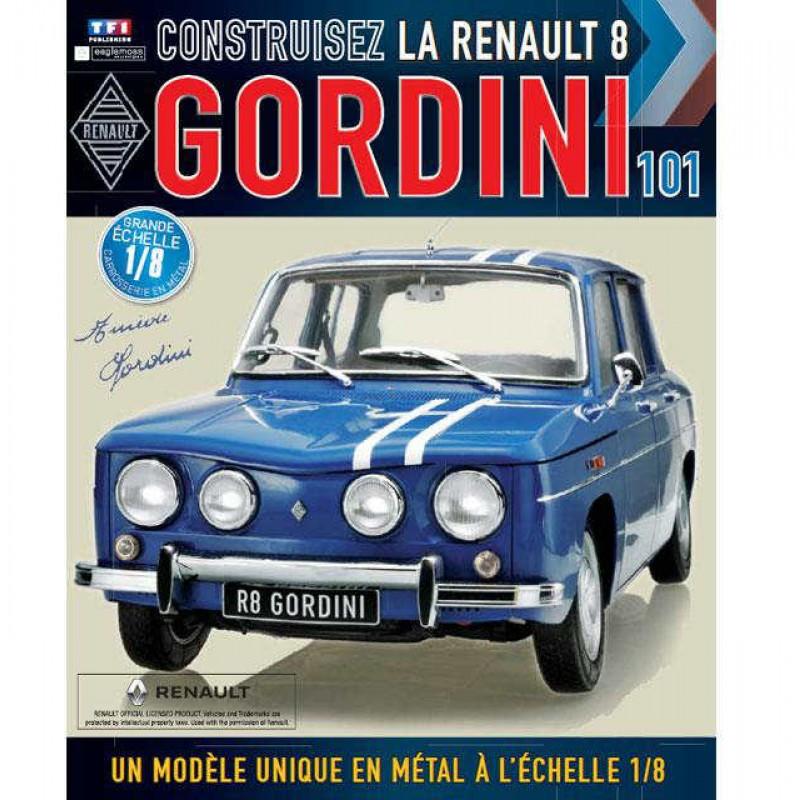 Macheta auto Renault 8 Gordini KIT Nr.101, scara 1:8 Eaglemoss