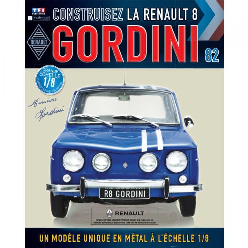 Macheta auto Renault 8 Gordini KIT Nr.82, scara 1:8 Eaglemoss