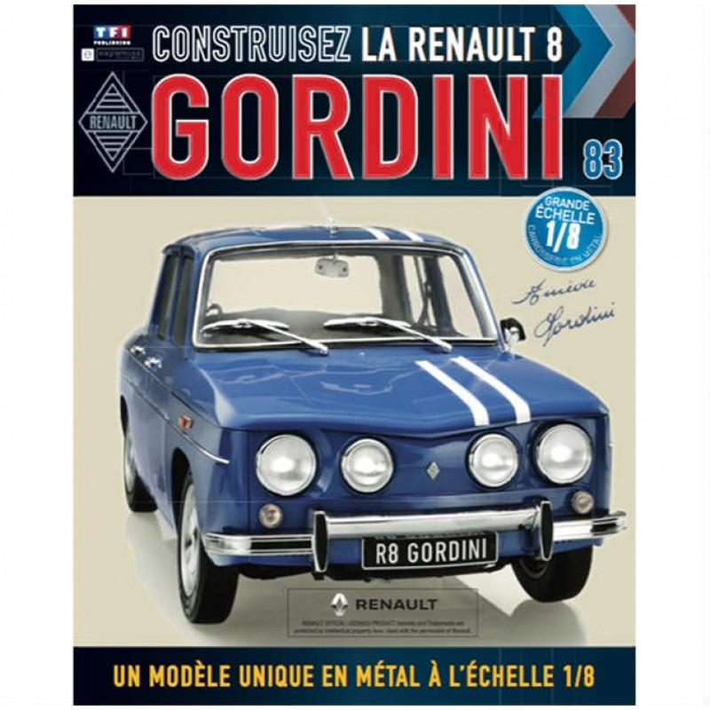 Macheta auto Renault 8 Gordini KIT Nr.83, scara 1:8 Eaglemoss