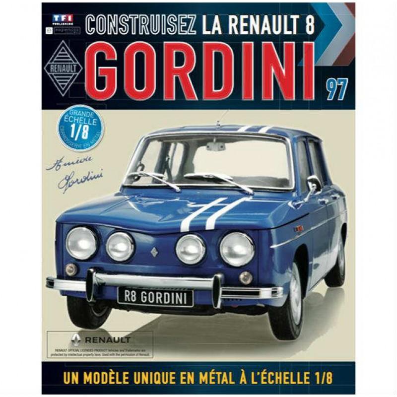 Macheta auto Renault 8 Gordini KIT Nr.97, scara 1:8 Eaglemoss