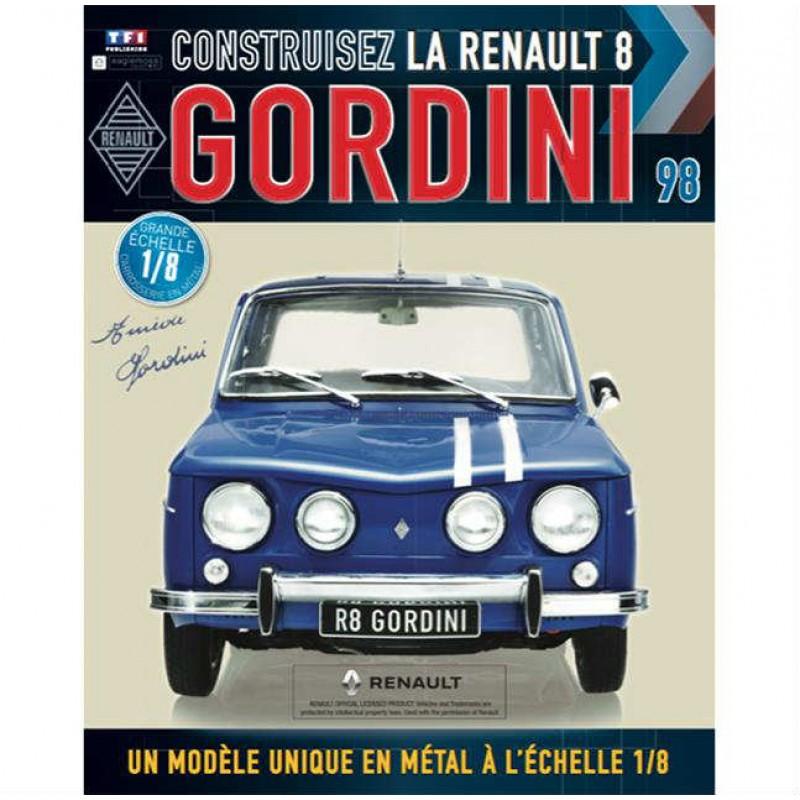 Macheta auto Renault 8 Gordini KIT Nr.98, scara 1:8 Eaglemoss