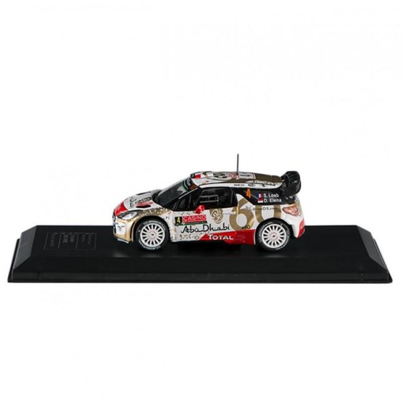 Macheta auto Citroen DS3 WRC 2013 #2, 1:43 Eaglemoss - Colectia Raliul Monte Carlo