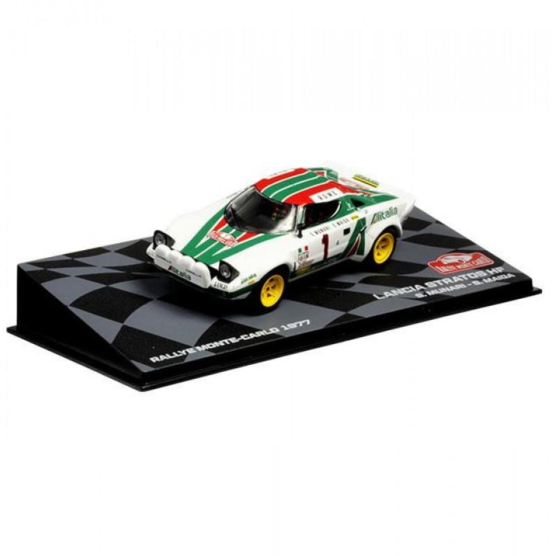 Macheta auto Lancia Stratos HF 1977, 1:43 Eaglemoss - Colectia Raliul Monte Carlo