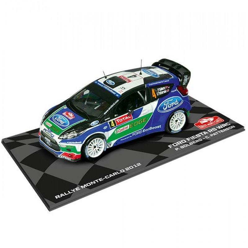 Macheta auto Ford Fiesta RS WRC 2012 #4, 1:43 Eaglemoss - Colectia Raliul Monte Carlo