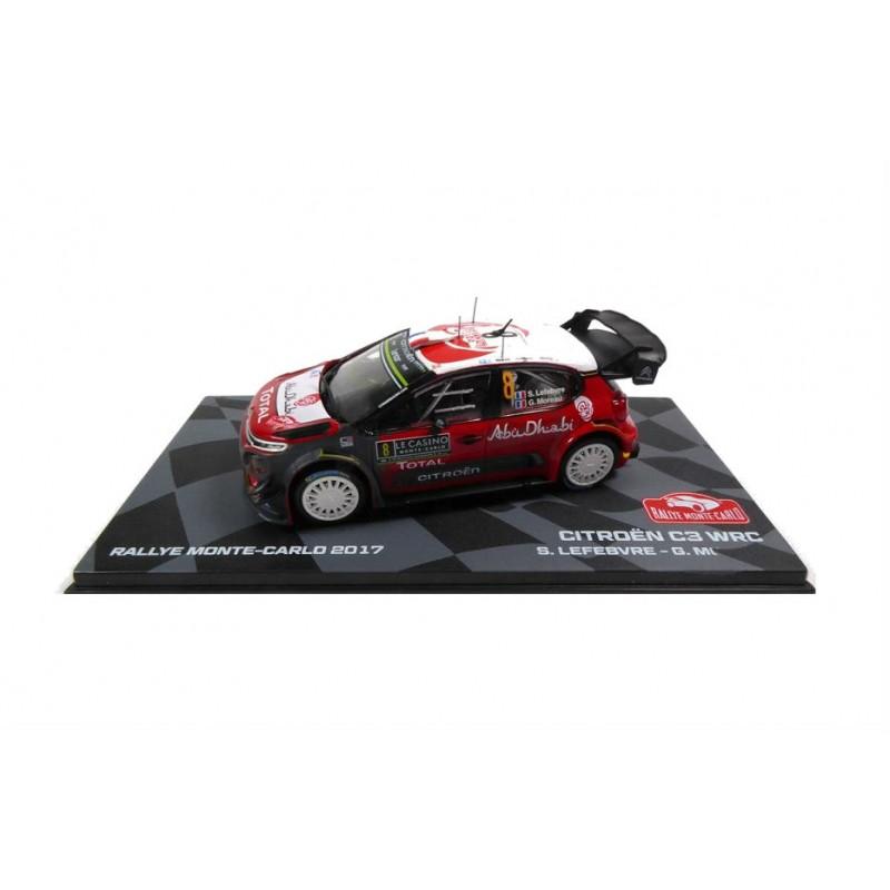 Macheta auto Citroen C3 WRC 2017 #8, 1:43 Eaglemoss - Colectia Raliul Monte Carlo