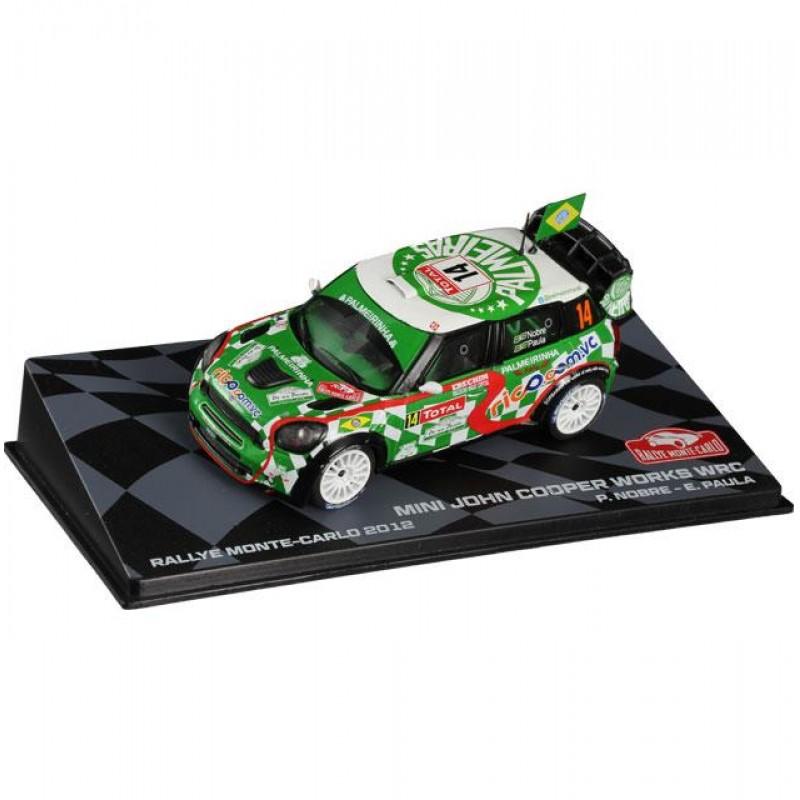 Macheta auto Mini John Cooper Works WRC 2012 #10, 1:43 Eaglemoss - Colectia Raliul Monte Carlo