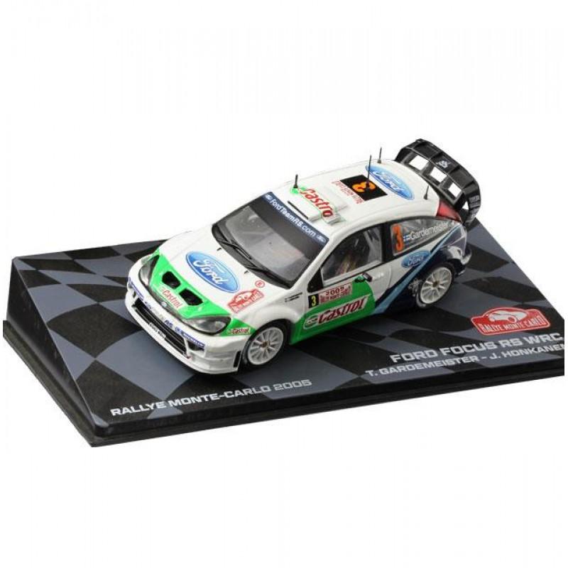 Macheta auto Ford Focus RS WRC 2005, 1:43 Eaglemoss - Colectia Raliul Monte Carlo