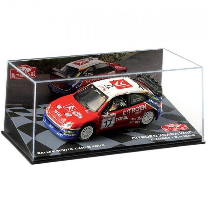Macheta auto Citroen Xsara WRC 2003 #17, 1:43 Eaglemoss - Colectia Raliul Monte Carlo