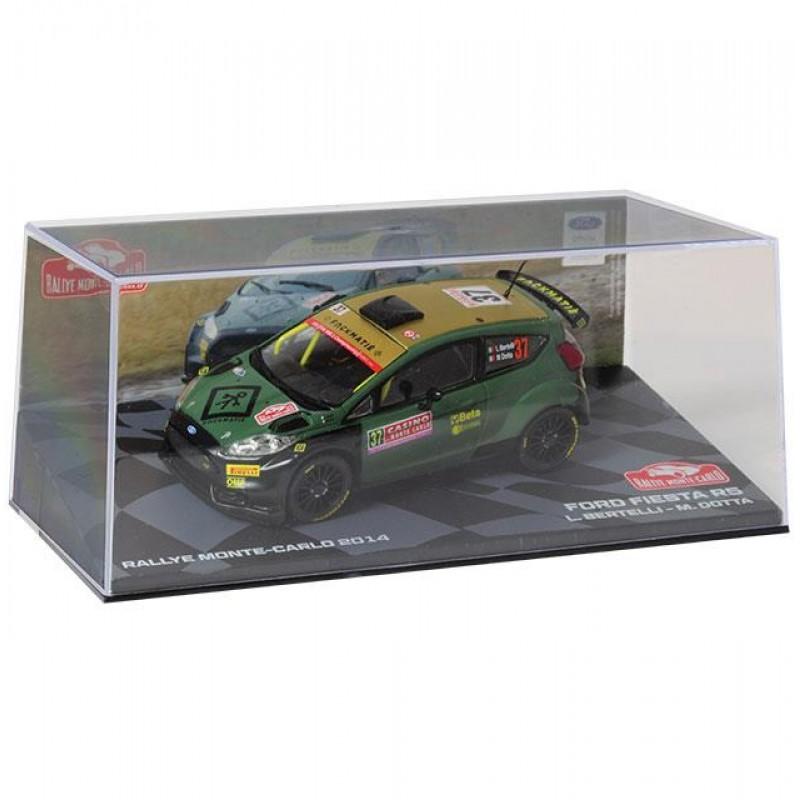 Macheta auto Ford Fiesta R5 2014 #20, 1:43 Eaglemoss - Colectia Raliul Monte Carlo