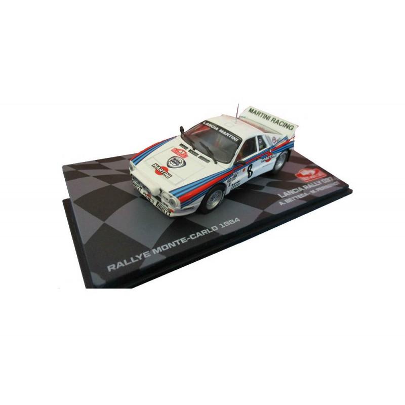 Macheta auto Lancia 037 Rally 1984 #28, 1:43 Eaglemoss - Colectia Raliul Monte Carlo