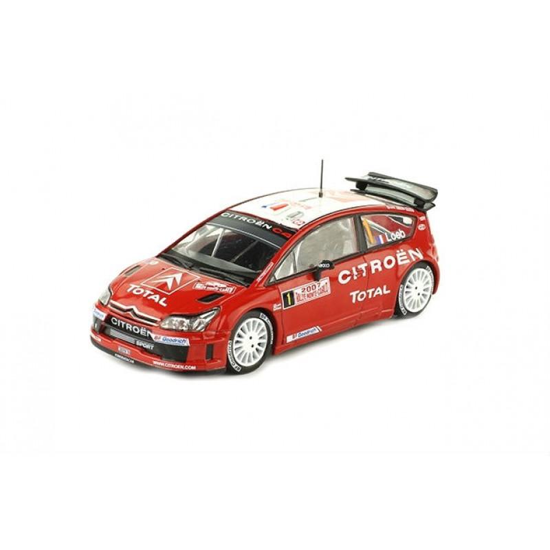 Macheta auto Citroen C4 WRC 2007 #33, 1:43 Eaglemoss - Colectia Raliul Monte Carlo