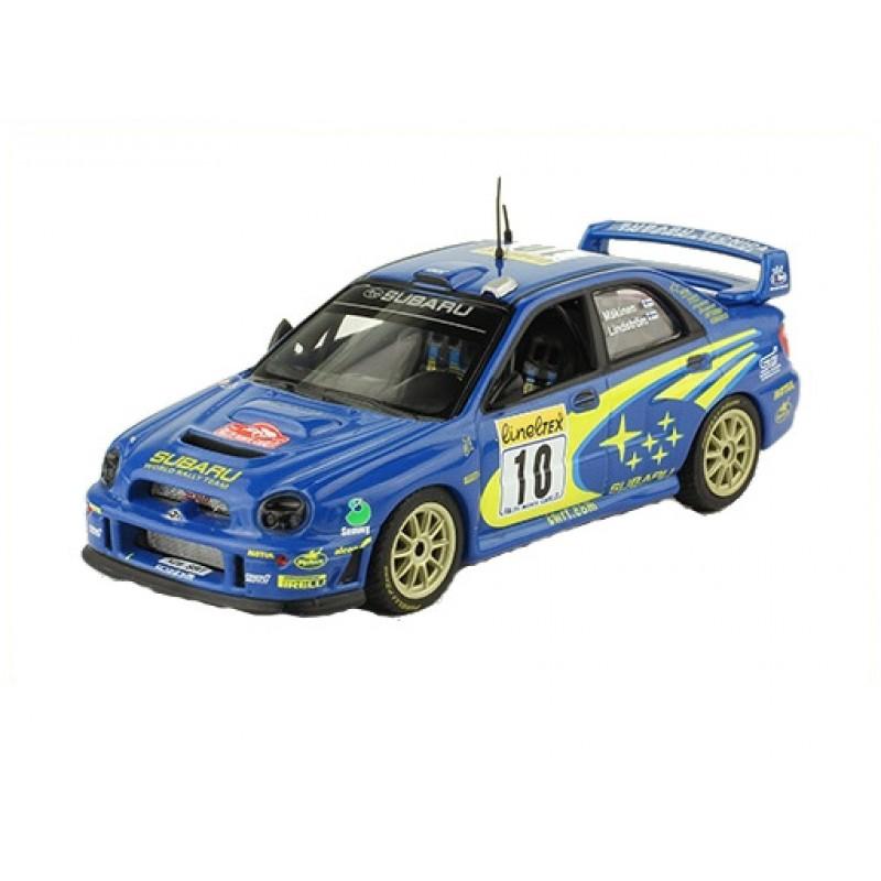 Macheta auto Subaru Impreza S7 WRC 01 2002 #37, 1:43 Eaglemoss - Colectia Raliul Monte Carlo