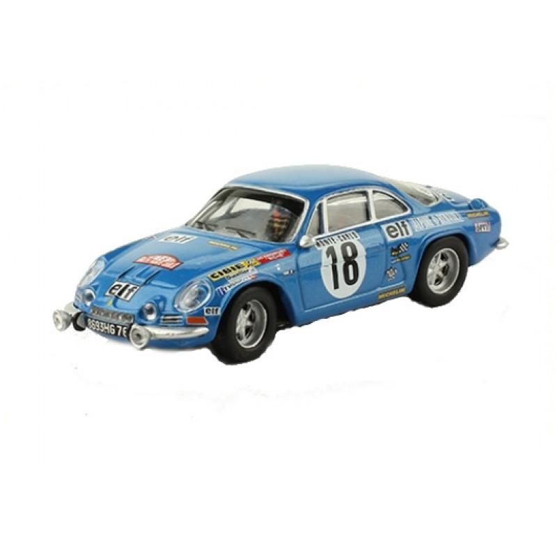Macheta auto Renault Alpine A110 1800 1973 #40, 1:43 Eaglemoss - Colectia Raliul Monte Carlo