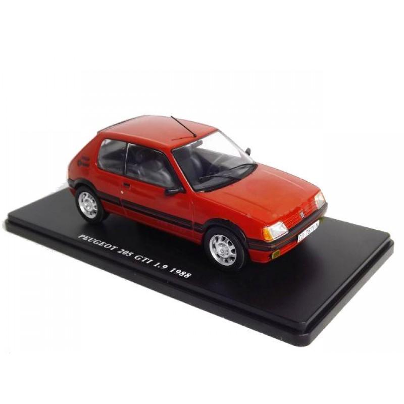 Macheta auto Peugeot 205 GTi 1.9 1986, 1:24 Colectia Automobile de Neuitat – World – Hachette
