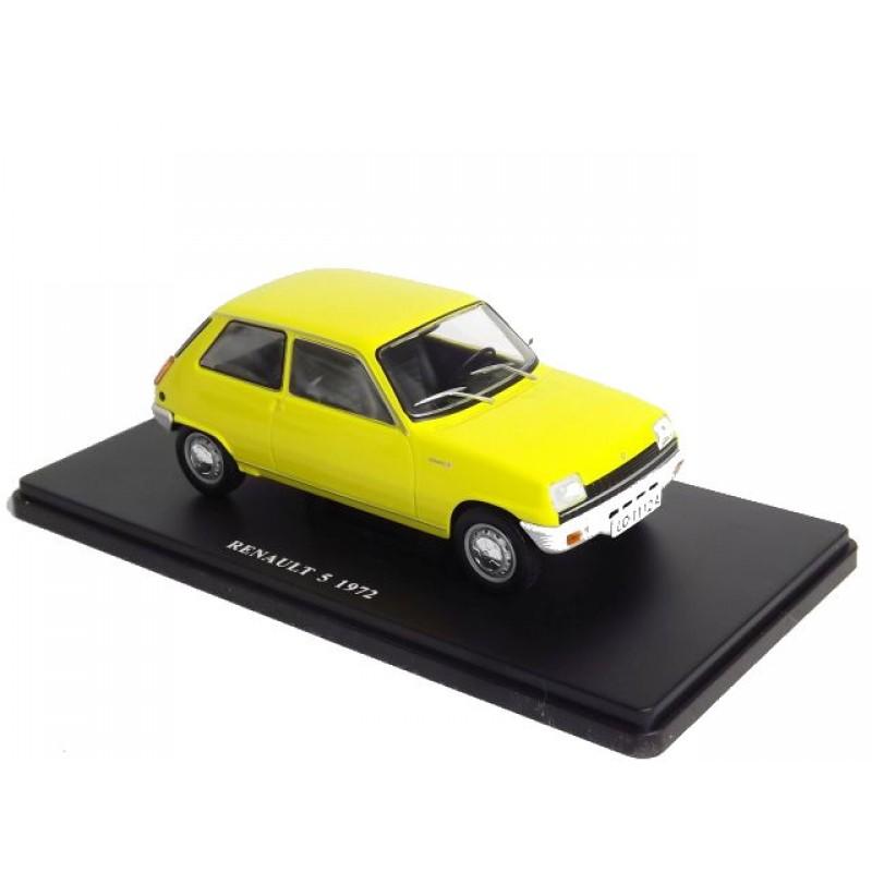 Macheta auto Renault 5 1972, 1:24 Colectia Automobile de Neuitat – World – Hachette