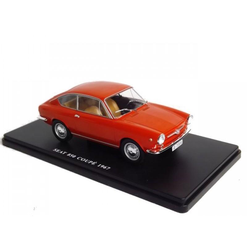 Macheta auto Seat 850 Coupe 1967, 1:24 Colectia Automobile de Neuitat – World – Hachette