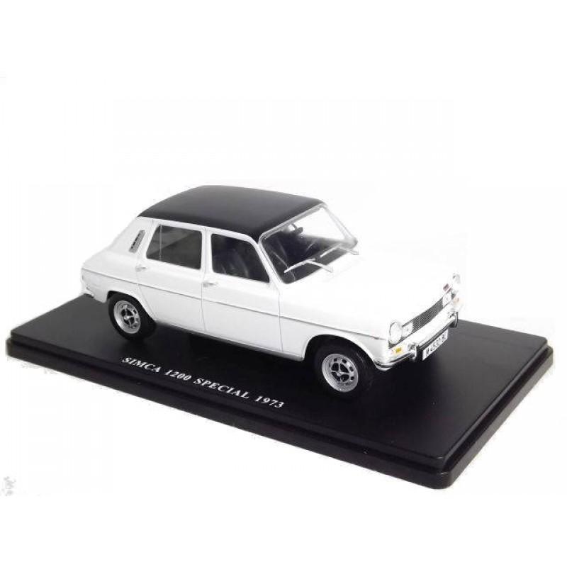 Macheta auto Simca 1200 Special 1973, 1:24 Colectia Automobile de Neuitat – World – Hachette