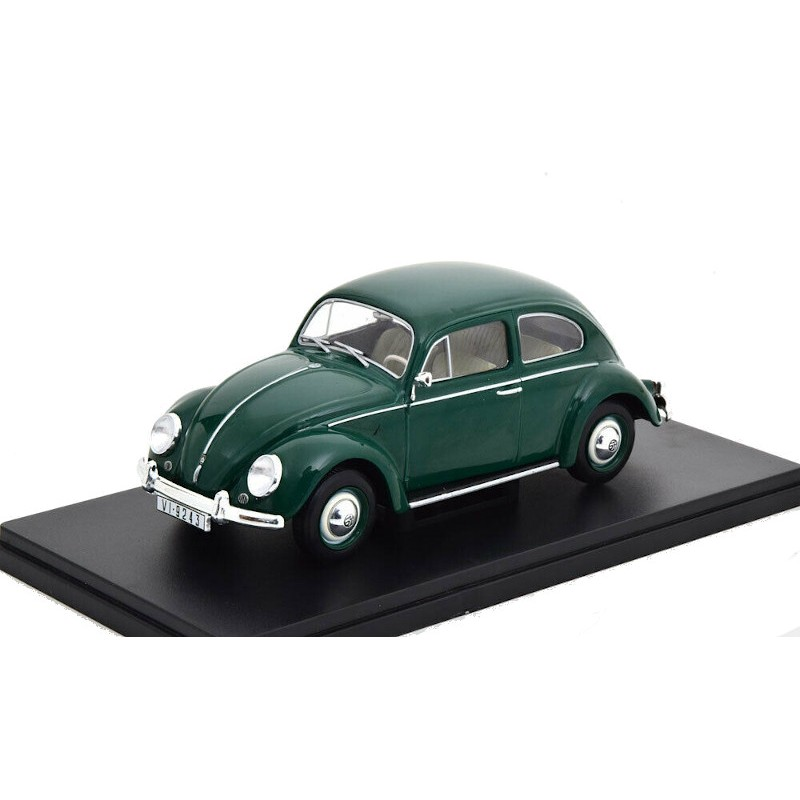 Macheta auto Volkswagen Escarabajo 1200 Standard 1960, 1:24 Colectia Automobile de Neuitat – World – Hachette