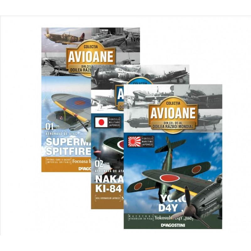 Abonament Colectia Avioane din Cel de-al Doilea Razboi Mondial - Deagostini numar prezent - 20
