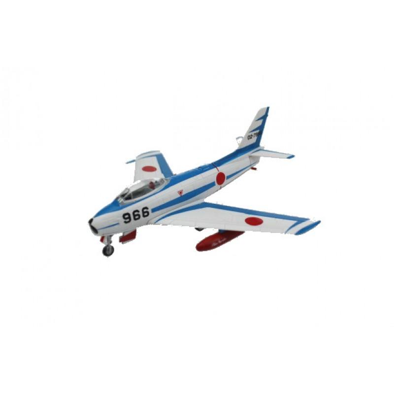 Macheta Avion North American F-86F Sabre Blue Impulse, Colectie machete militare Armata Japoneza JSDF41, 1:100 Deagostini