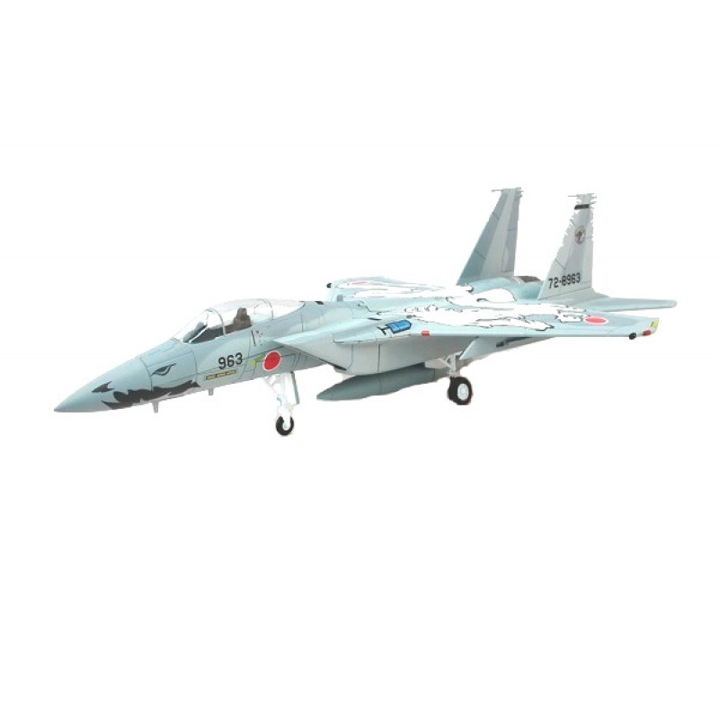 Macheta Avion McDonnel Douglas F-15J, Colectie machete militare Armata Japoneza JSDF65, 1:100 Deagostini