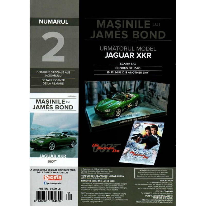 Macheta auto Aston Martin DBS Nr.01 , 1:43 Colectia James Bond Eaglemoss