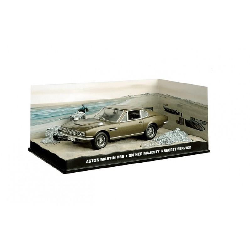 Macheta auto Aston Martin DBS Nr.06, 1:43 Colectia James Bond Eaglemoss