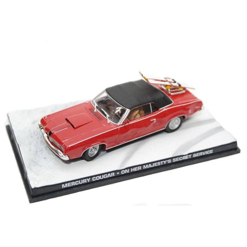 Macheta auto Mercury Cougar (Tracys) Nr.11, 1:43 Colectia James Bond Eaglemoss