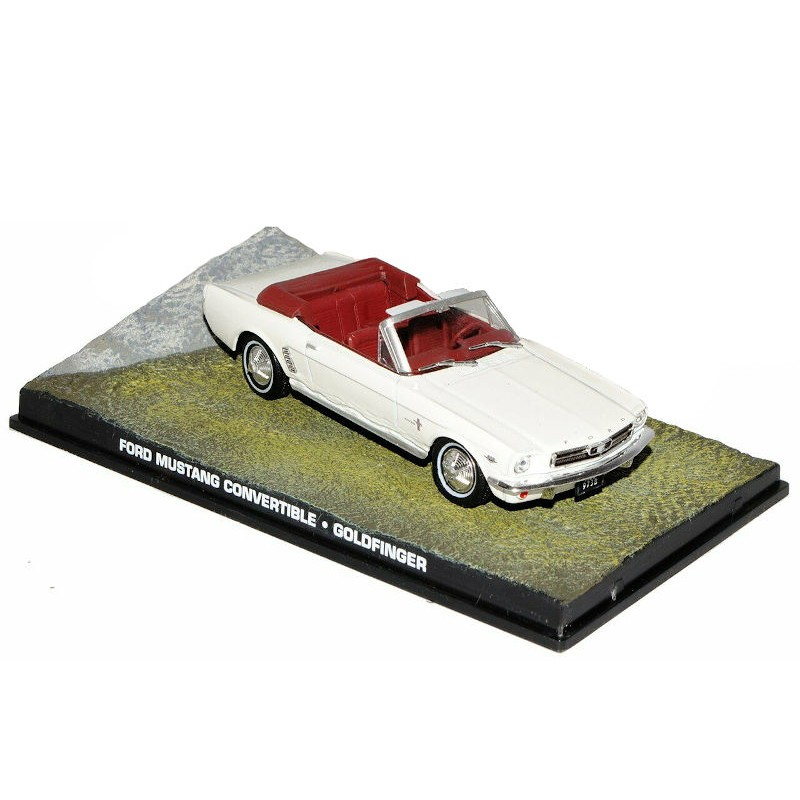 Macheta auto Ford Mustang Convertible 1964 Nr.12, 1:43 Colectia James Bond Eaglemoss