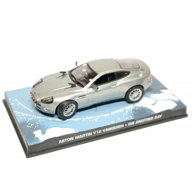Macheta auto Aston Martin Vanquish Nr.13, 1:43 Colectia James Bond Eaglemoss