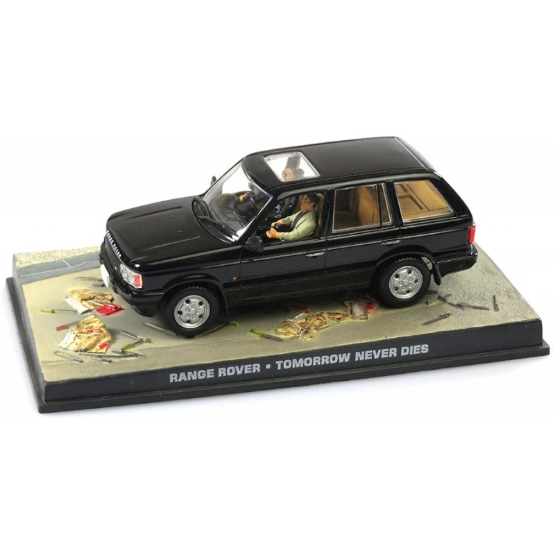 Macheta auto Range Rover 1995 Nr.15, 1:43 Colectia James Bond Eaglemoss