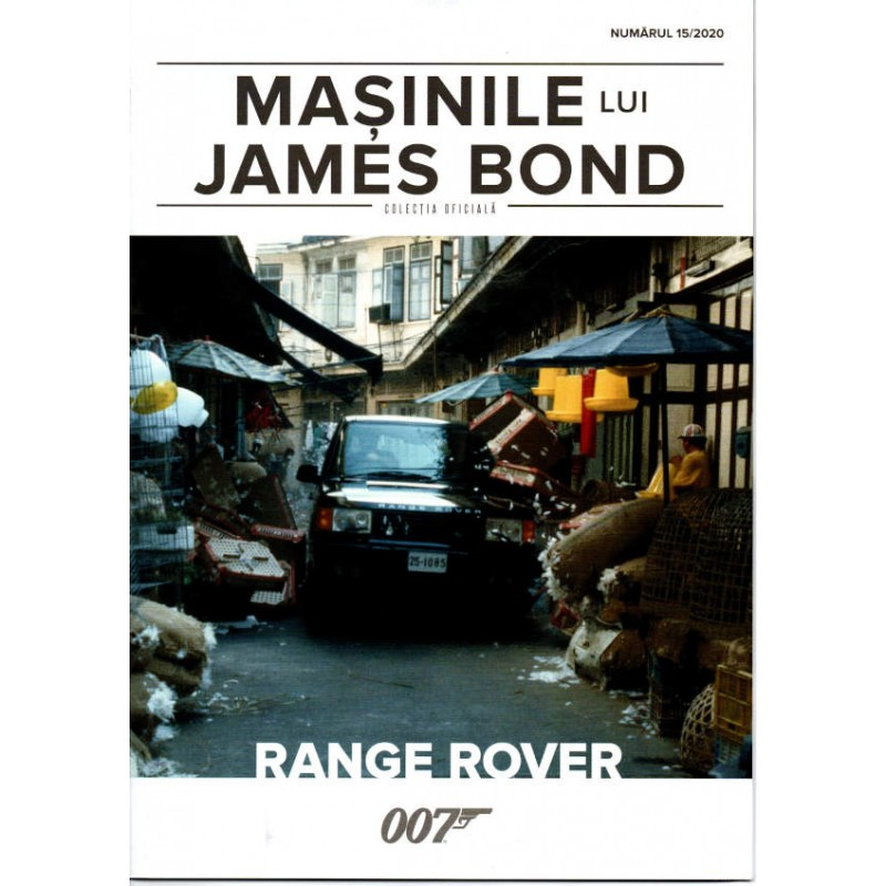 Macheta auto Range Rover 1995 Nr.15, 1:43 Colectia James Bond Eaglemoss