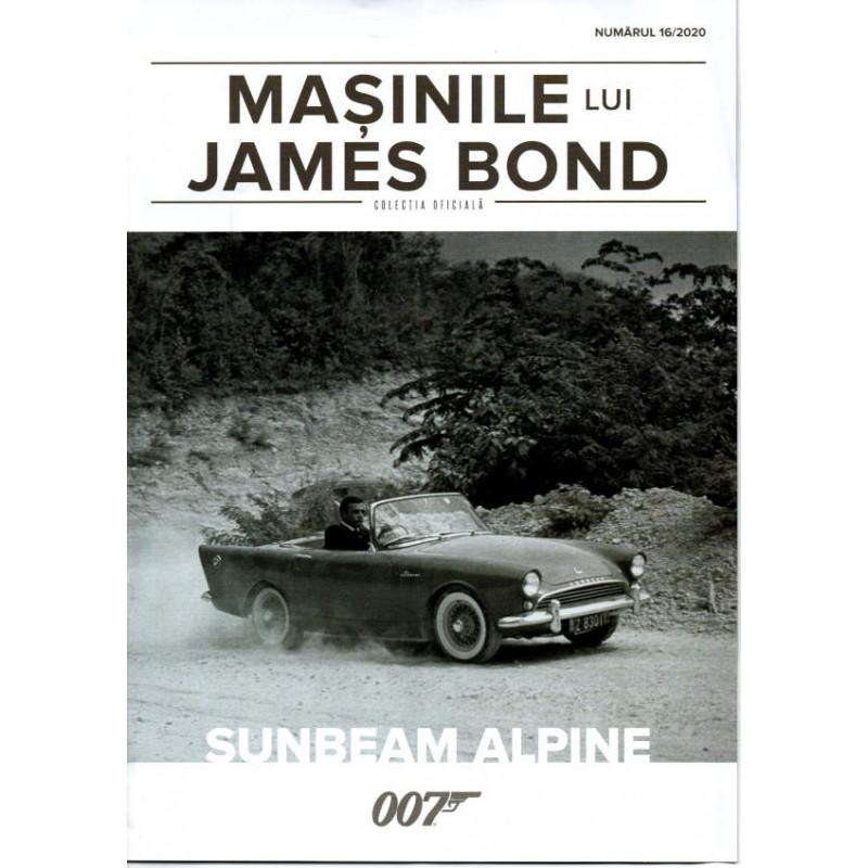 Macheta auto Sunbeam Alpine Nr.16, 1:43 Colectia James Bond Eaglemoss