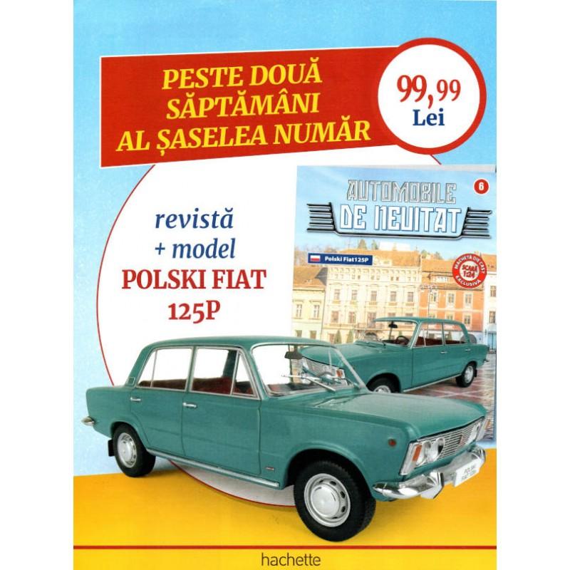 Macheta auto Gaz 21 Volga 1959 Nr 5 - Automobile de neuitat, 1:24 Hachette